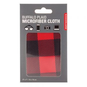 Buffalo Plaid Microfiber Cloth - Red