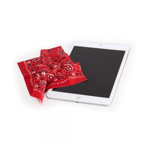 Microfiber Cleaning Cloth - Red Bandana