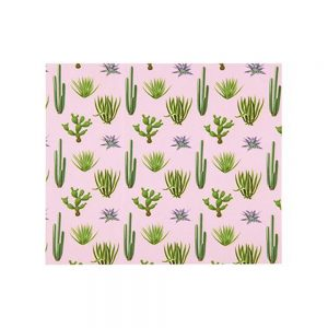 Microfiber Cleaning Cloth - Pink Cactus