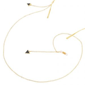 Fita Gold Triangle Pendant